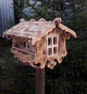 Кормушки для птиц и белок