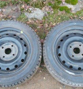 Зимние колёса 195-50-R15