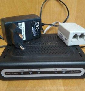 Интернет - маршрутизатор D-Link DSL-2500U