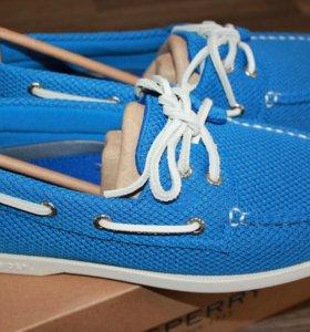 обувь sperry ao 2-eye mesh blue
