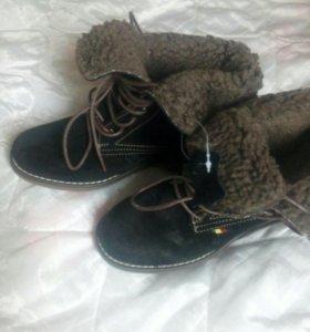 Новые, натуральные ,немецкие ботиночки