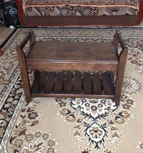 Мебель и предметы интерьера из массива