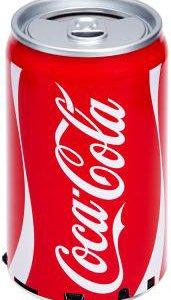 Колонки портативные аудио  банка Coca-Cola MP3+FM