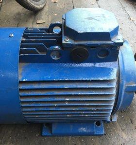 Асинхронный электродвигатель двигатель