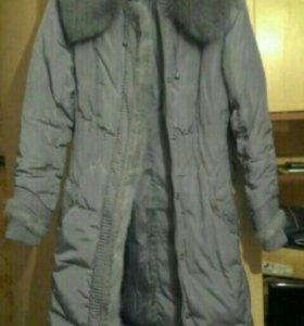 Пальто-пуховик женский