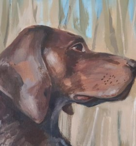 Картина Охотничий пес