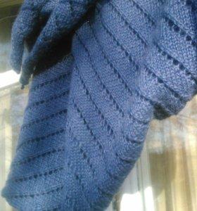 Шапочка+шарф. Ручная работа.