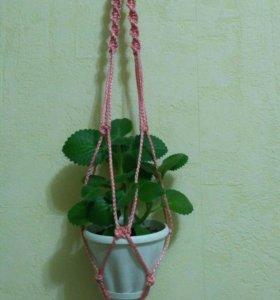 Кашпо для цветов подвесное