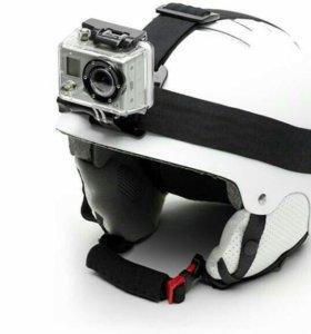 Крепление на голову для Gopro и др экшн камер