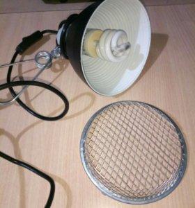 Подвесная лампа для террариума