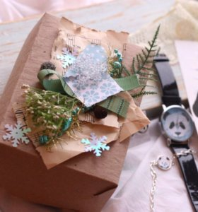 Новогодняя сюрприз-коробочка!