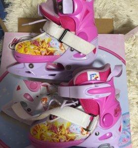 Коньки для девочки