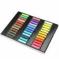 Мелки для волос Hair Halkin 36 цвета