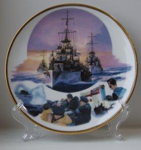 "Тарелка ""Арктический конвой"" Дервиш WW2 Англия"