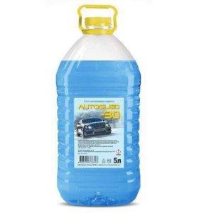 Стеклоомывающая незамерзающая жидкость Gleid -30
