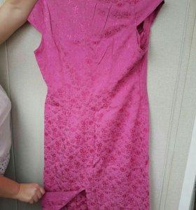 Платье, ручная работа.