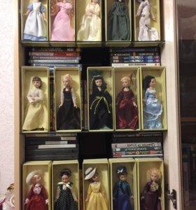 Коллекционные фарфоровые куклы-Дамы Эпохи