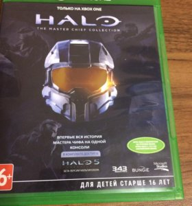 Диск Halo the master chief collection