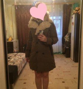 Натуральная зимняя куртка