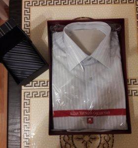 Мужская рубашка и галстук (комплект)