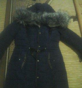 Куртка зимняя в хорошем состояние
