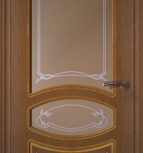 Выставочные образцы межкомнатных дверей (шпон)