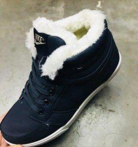 Ботинки зима,новые