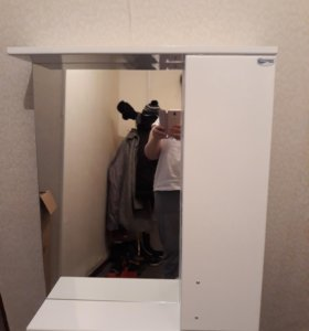 Шкаф-зеркальный в ванную