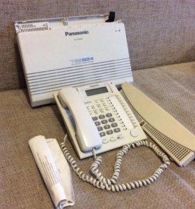 Телефонная станция Panasonic TES824