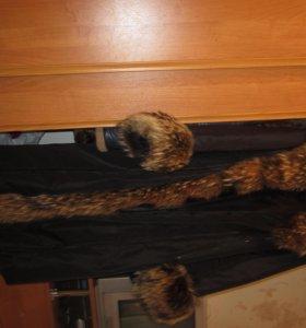 Пальто с опушкой