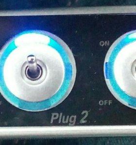 12В тройник разветвитель зарядка автомобиля
