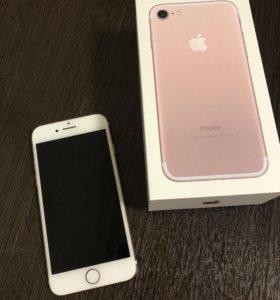iPhone 7 rose gold 128Гб