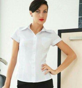 Новая блузка,хорошего качества. Ткань стрейч♡♡♡