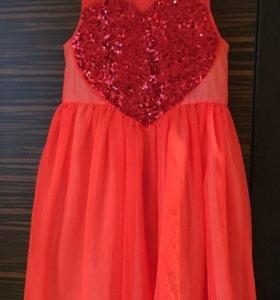 Платье для девочки H&М (8-9 лет)рост 134 см.