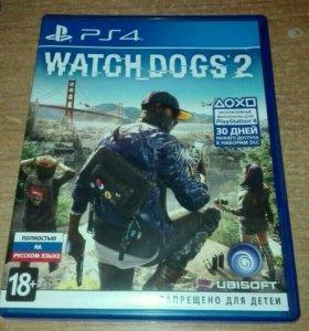 "Игра ""Watch Dogs 2"" для PS4."