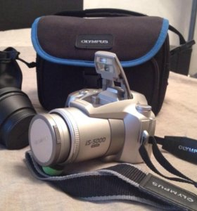 Фотоаппарат Olympus плёночный.