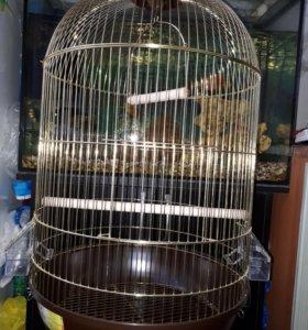 Клетка новая для попугая