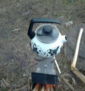 Реактивная печь для рыбалки и охоты