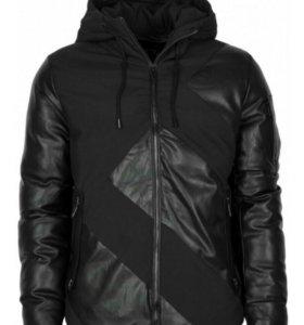 Куртка пуховик armani