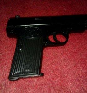 Пистолет железный игрушечный