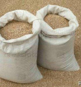 Пшеница овес ячмень гречка горох в мешках