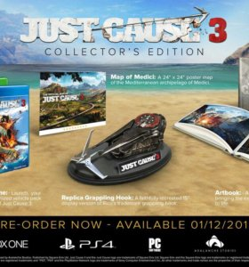 Just cause 3 PC collector S edition новое торг