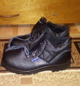 Ботинки осенние )