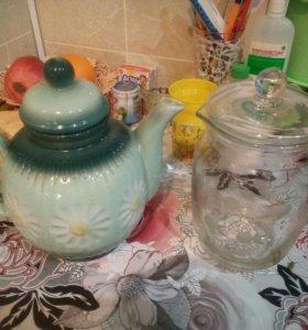 Графин и чайник