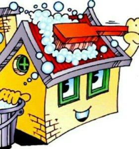 Уборка квартир и офисов(клининговая служба)