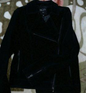 Замшевая куртка 46 размер