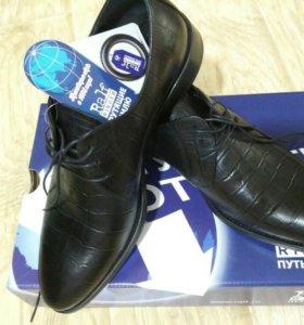 Новые кожаные ботинки Ральф Рингер