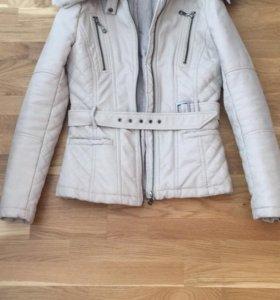 Куртка (искусственная кожа,утеплённая)