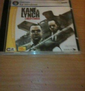 Kane & Lynch смертники диск.