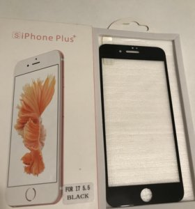 Защитное стекло iPhone 7 plus